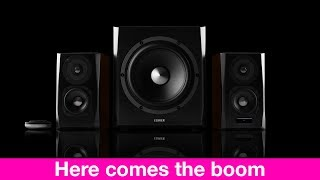 Edifier S350DB Bookshelf Speakers REVIEW with Subwoofer - Here Comes the Boom!
