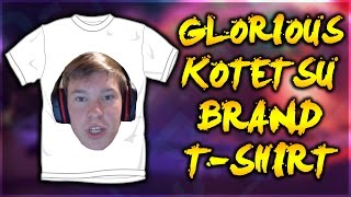 THE GLORIOUS KOTETSU BRAND T-SHIRT! (Photoshop Adventures)