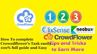 How to complete crowedflower tasks | 100% full guide | in hindi |easy