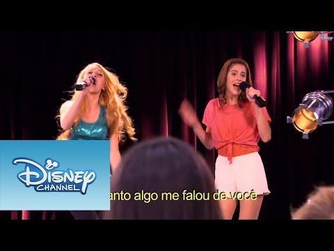 Violetta Momento musical Violetta e Ludmila cantam ¨Te creo¨