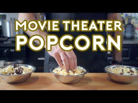 Binging with Babish Movie Theater Popcorn & Raisinets from Whiplash
