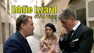 Eddie Izzard & Craig Ferguson - When Two Unhinged Comedians Meet - 14/16 Visits In Timely Order