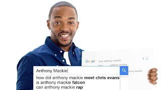 Anthony Mackie Answers the Web's Most Searched Questions | WIRED