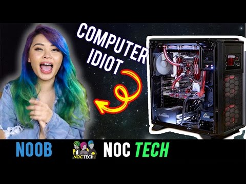 NOC Tech Teaching a Computer Idiot About Computers