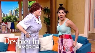 Duelo de canto: Doña Meche versus Mela en Teletón USA 2018