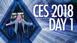 CES 2018: DJI, Samsung and Mercedes!