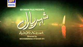 Shehr e Yaraan OST Drama on ARY Digital  :)