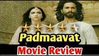 ग़ज़ब Padmaavat Movie Review  देखें वीडियो | Ranveer | Deepika | Shahid