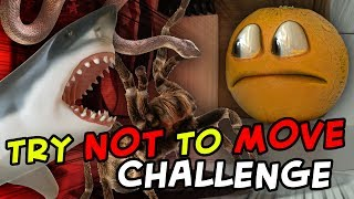 Annoying Orange - Try Not to Move Challenge