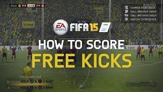 FIFA 15 Tutorial: How To Score Free Kicks