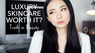 LUXURY SKINCARE WORTH IT? | Inside the Beauty Industry & Why I Don't Buy Luxury Skincare | LvL