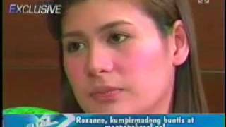 The Buzz Interview 02.28.10-Roxanne Guinoo Confimed Pregnant and Info About the Wedding!