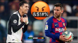 Cristiano Ronaldo Vs Leo Messi ● Top 5 Fights\Angry Moments Ever ● 1080i HD #CristianoRonaldo #Messi