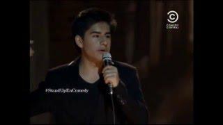 Erick Vargas en Comedy Central