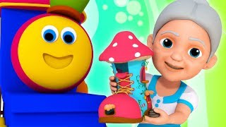 Old Woman Who Lived In A Shoe | Bob The Train | Songs For Babies
