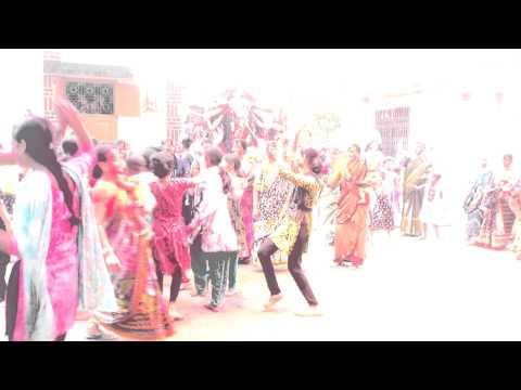 Village girls dance for bijoy doshomi (Part-2)
