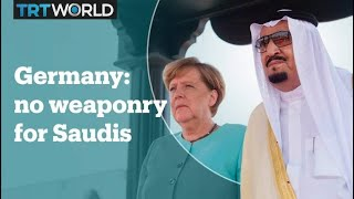 Germany bans all arms sales to Saudi