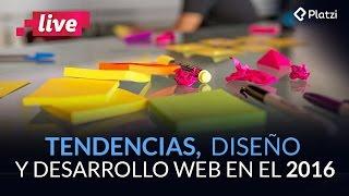 Tendencias del diseño y desarrollo web en el 2016