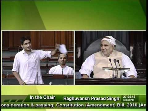 Sh. Deepender Singh Hooda speaking for Haryanvi language in Lok Sabha on 27-04-2012