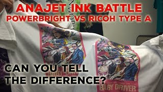 Is It Worth It? Testing NEW Anajet vs Ricoh Ink - Ink Battle Comparison Signworx