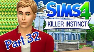 Let's Play The Sims 4: Killer Instinct Part 32 - Deadly Cow Plant