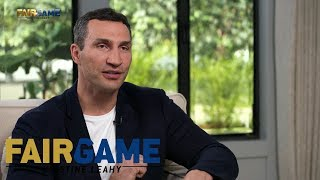 Wladimir Klitschko: 'My heart and my soul are at peace' | FAIR GAME
