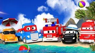 Car City hat Ferien ☀ Die Sommer Folgen  ⛵ Tom, Carl, Mat und Troy am Strand !!! ♒