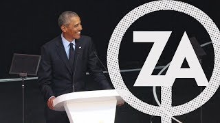 TQS #3 - Reviewing the Nelson Mandela Annual Lecture with Barack Obama
