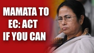 Mamta Banerjee Hits Out At Election Commission