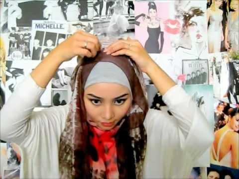 hijab tutorial 4 by Irna.wmv