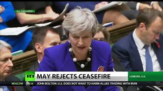 UK's May Fails To Support Yemen Ceasefire