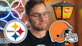 Dad Reacts to Steelers vs Browns (Week 8)