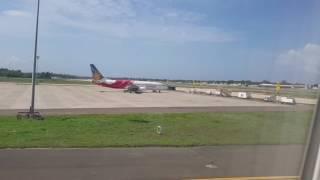 Thiruvananthapuram Airport Emirates airlines to Dubai take off