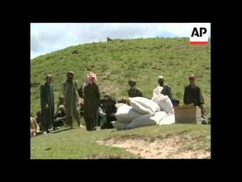 AFGHANISTAN: UN LAUNCHES FOOD PROGRAMME AFTER EARTHQUAKE