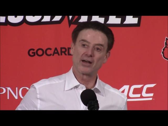 MBB: Rick Pitino Syracuse Postgame Press Conference