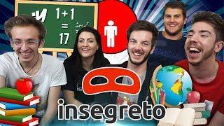SEGRETI IMBARAZZANTI DI SCUOLA! - insegreto #13 w/ Lever, Leo, Anna
