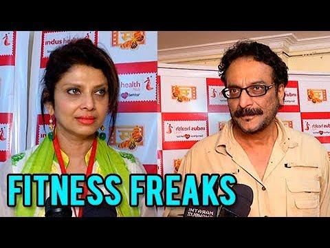 Xxx Mp4 Varsha Usgaonkar Milind Gunaji Talks About Fitness Medical Checkup Camp Marathi Actors 3gp Sex
