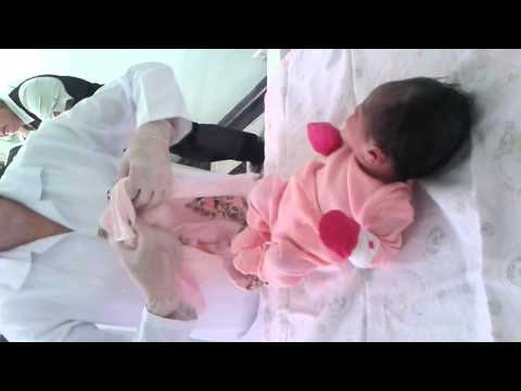 Alice primeira troca de roupa no hospital 23 11 2012