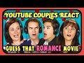 YOUTUBE COUPLES REACT TO GUESS THAT MOVIE CHALLENGE