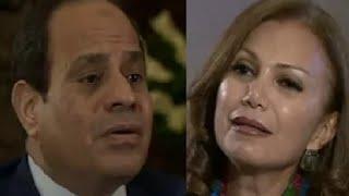 مذيعة بي بي سي تحرج السيسي  مفيش حرية فى مصر واعلامك كله صوت واحد