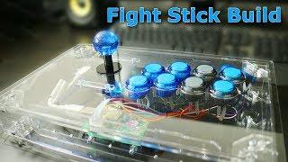 [PS4 | PC] Arcade Stick Build - Clear Acrylic