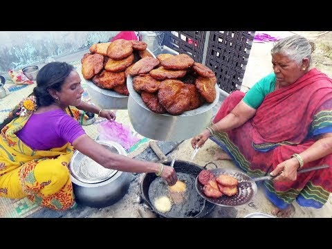 Hard Working Andhra Women s Manages All Traditional Andhra Sweet Village Sweets Ariselu