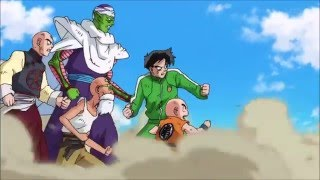 Dragon Ball Super Frieza's Soldiers Vs Dbz Fighters + Jaco Highlights
