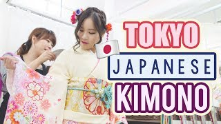 Street Food in Tokyo    How to rent a kimono in Japan