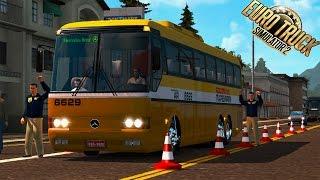 Euro Truck Simulator 2 - FOMOS PARADO NA BLITZ DA PRF! RODOVIA DO PARANÁ MONOBLOCO O400 ► G27