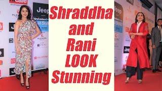 Shraddha Kapoor and Rani Mukherji glam up at HT Style Awards; Watch Video   FilmiBeat