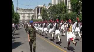 Greek Presidential Guard 2012 ( Evzonoi)148 years from  the Union of the Ionian Islands with Greece