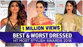 Deepika Padukone, Hina Khan, Shahid Kapoor: HT Most Stylish 2018 Best and Worst Dressed