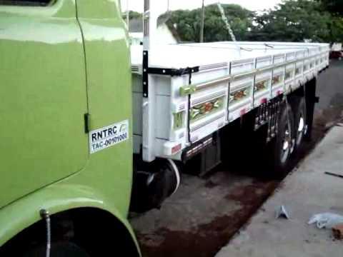 O Caminhão do meu Pai depois da reforma D11000 Ano 72 FNM do Chiréia Part 2