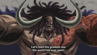 One Piece Episode 739 Hundred Beasts Kaido Appears [HD]